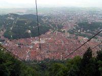 die Altstadt von Brasov von oben