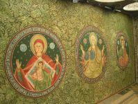 Malerei an einer ordothoxen Kirche in Constanta