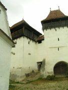 Viscri, Haupttor Kirchenburg