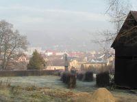 Mediaş, Blick vom evangelischen Friedhof