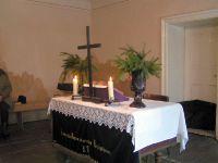 Gottesdienst in Metis