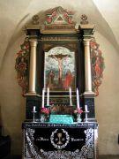 Altar in der evangelischen Kirche