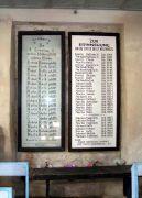 Gedenktafel für die Gefallenen in den beiden Weltkriegen