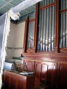Orgel in der evangelischen Kirche